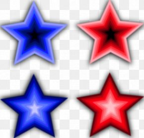 Free 4th Of July Pictures - Star Blue Clip Art PNG