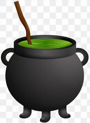 Halloween Witch Cauldron Clip Art - Cauldron Witchcraft Halloween Clip Art PNG