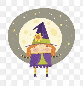 Halloween Hat Little Master - Magic Halloween Hat PNG