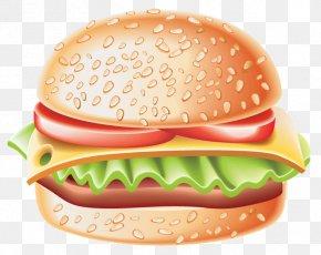 Hamburger Clipart - Hamburger Hot Dog Fast Food French Fries Panini PNG