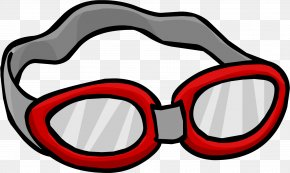 Cliparts Swimming Google's - Goggles Swimming Free Content Clip Art PNG