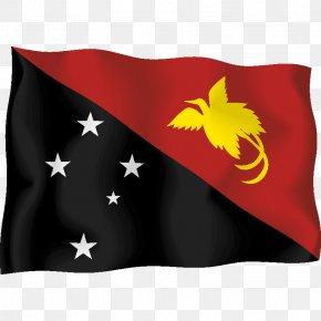 Papua New Guinea - Flag Of Papua New Guinea Stock Illustration PNG