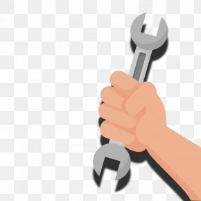 Vector Wrench - Tool Wrench Euclidean Vector PNG