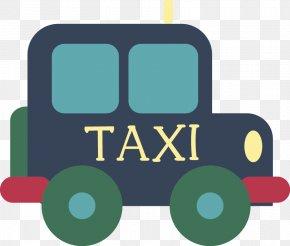 Taxi - Taxi Cartoon Illustration PNG