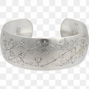 Lily Of The Valley - Bangle Jewellery Silver Clothing Accessories Bracelet PNG