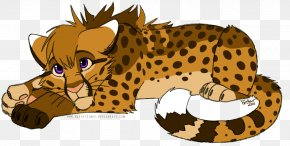 Cheetah Transparent Background - Cheetah Tiger Lion Clip Art PNG