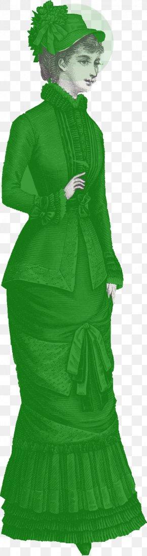 Bustling - Christmas Tree Costume Design Green PNG