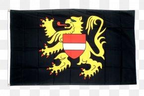 Flag - Flemish Brabant Provinces Of Belgium Walloon Brabant Flag Of North Brabant PNG