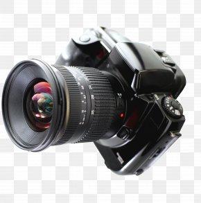 Camera Material - Digital Camera Single-lens Reflex Camera Digital SLR Photography PNG