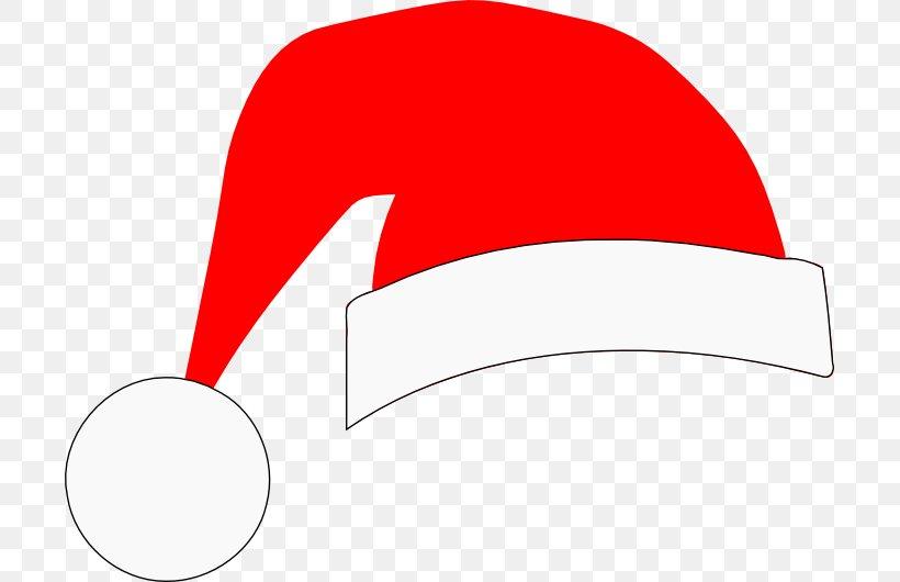 Santa Claus Christmas Hat Clip Art, PNG, 701x530px, Santa Claus, Area, Brand, Cap, Christmas Download Free