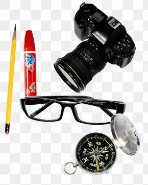 SLR Camera Glasses Free Buckle Material - Goggles Glasses Single-lens Reflex Camera PNG