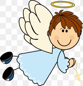 Angel - Baptism First Communion Angel Child Clip Art PNG