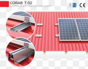 Energy - Roof Photovoltaics Sheet Metal Steel Corrugated Galvanised Iron PNG