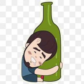 Wine - Wine Sticker Alcoholism Dipsomania Alcoholic Drink PNG