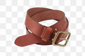 Leather Belt Image - Belt Buckle Brown Leather PNG