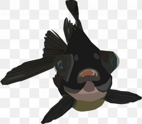 Dog - Black Telescope Dog Bird Goose PNG