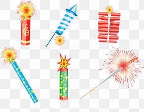 Vectors Chinese New Year Celebration - Celebrate Chinese New Year Fireworks Firecracker PNG