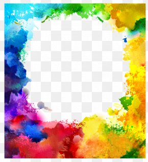 Splash Watercolor - Watercolor Painting Stock Illustration Art Illustration PNG