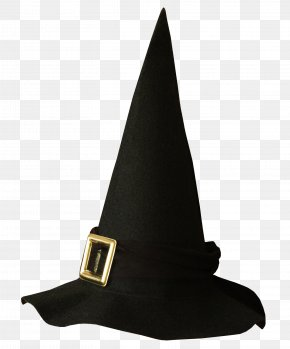 Black Witch Hat Transparent Picture - Witch Hat Halloween Clip Art PNG