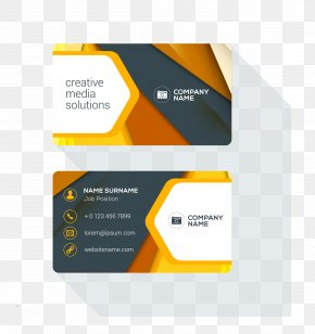 Business Card - Business Card Design Logo PNG