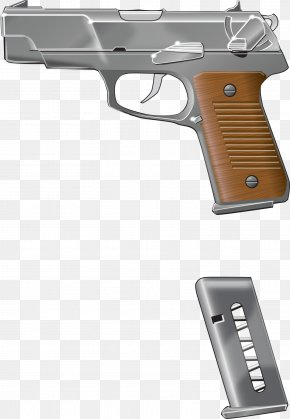 Handgun - Firearm Trigger Weapon Semi-automatic Pistol Handgun PNG