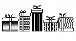 White Present Cliparts - Christmas Gift Christmas Gift Clip Art PNG