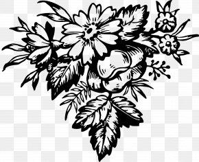 Leaf Floral - Floral Design Flower Visual Arts Clip Art PNG