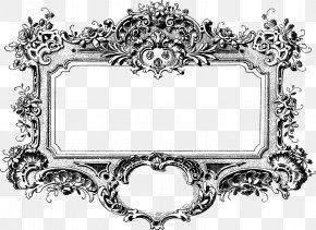 Teal Frame - Picture Frames Ornament Clip Art PNG