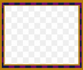 Orange Art Borders - Picture Frame Color Pixabay PNG