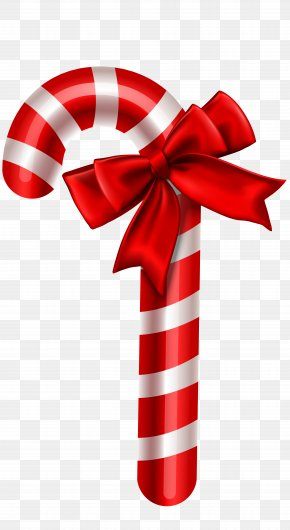 Candy Cane Christmas Ornament Clipart Image - Candy Cane Christmas Ornament Clip Art PNG