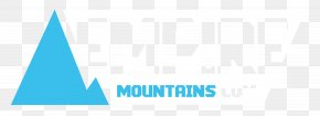Mountains - Blue Azure Graphic Design Teal PNG
