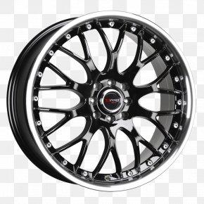 Wheel Rim - Car Alloy Wheel Rim Momo PNG