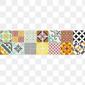 Kitchen - Carrelage Cement Tile Sticker Vinyl Group PNG