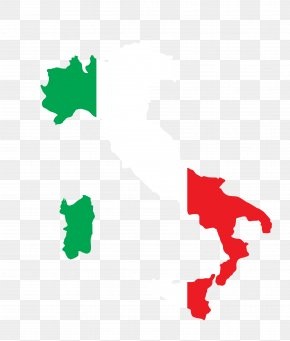 Country,Map Vector Map Shape - Flag Of Italy World Map Vector Map PNG