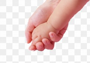 Hold The Child's Hand - Infant Mother Hand Child Islam PNG