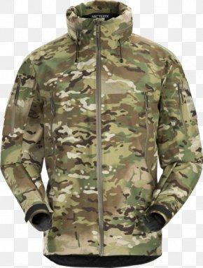 Arc'teryx - MultiCam Arc'teryx Shell Jacket Clothing PNG