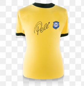 Pele Brazil - Brazil National Football Team T-shirt Jersey PNG