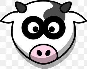 Cartoon Cow - Holstein Friesian Cattle Taurine Cattle Drawing Cartoon Clip Art PNG