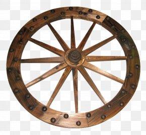 Wooden Wheel - Wheel PNG