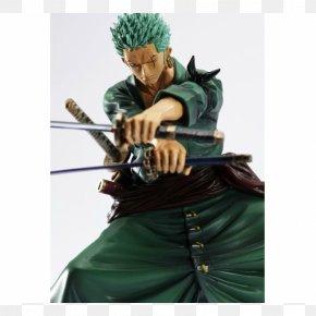 One Piece - Roronoa Zoro Figurine One Piece Vinsmoke Sanji Model Figure PNG
