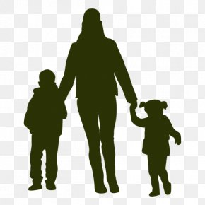 Mother - Family Silhouette Mother Child PNG