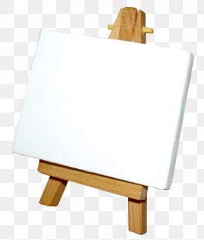 Painting - Easel Clip Art Painting Drawing Paint Brushes PNG