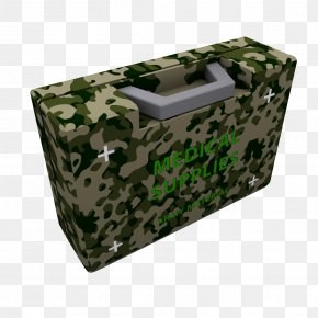 Camouflage Military First-aid Kit - Military Camouflage First Aid Kit PNG