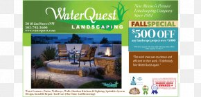 Water Landscape - Advertising Brand Water PNG