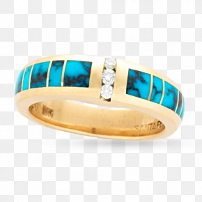 Ladies Turquoise Wedding Rings - Turquoise Emerald Ring Blue Green PNG