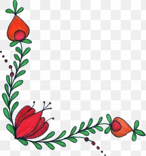 Flower Drawing - Flower Drawing Floral Design Watercolor Painting Clip Art PNG