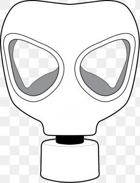Evil Cartoon Eyes - Gas Mask Drawing Clip Art PNG