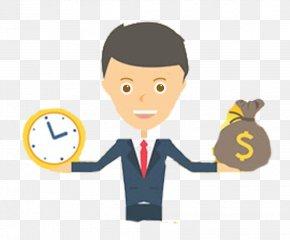 Hand Hand Time Money - Money Download Illustration PNG