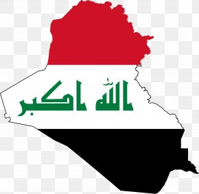 Uae - Baghdad Map Flag Of Iraq National Flag PNG
