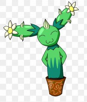 Leaf - Flowering Plant Character Flowerpot Clip Art PNG